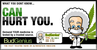 bud genius medical marijuana testing