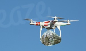 Drones to deliver cannabis bought with bitcoins