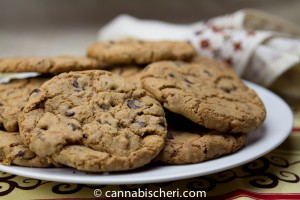 cannabis infused cookies toffee chip