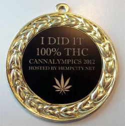 cannalympics medal gold bronze silver