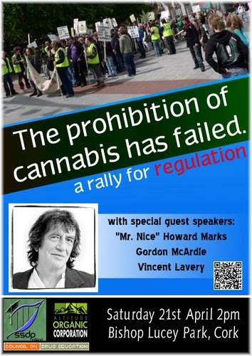 cork cannabis rally for regulation