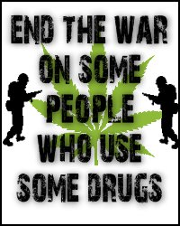 end the war on some people who use some drugs