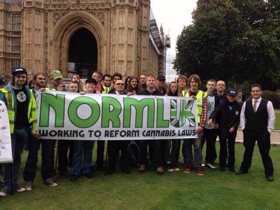 british medical cannabis protest laws