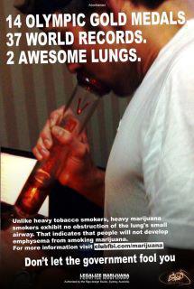 michael phelps marijuana bong lungs meme