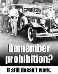remember prohibition al capone poster