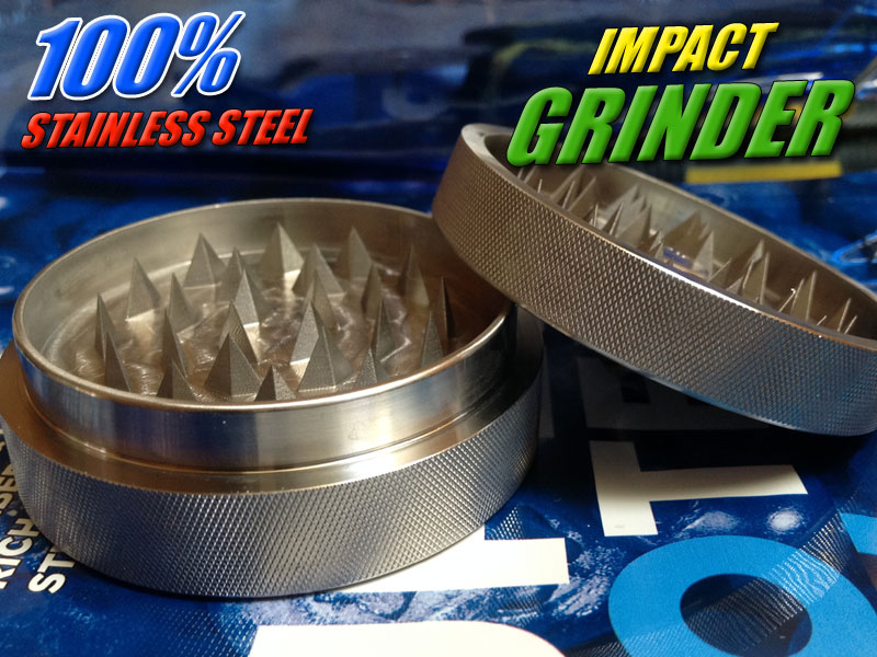 Wacky Willys Stainless Steel Herb Grinder