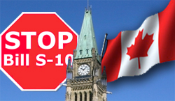 stop Bill S-10 cannabis marijuana