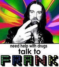 talk to frank gallagher about drugs