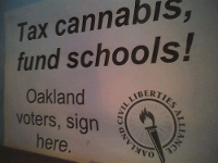 tax cannabis marijuana oakland